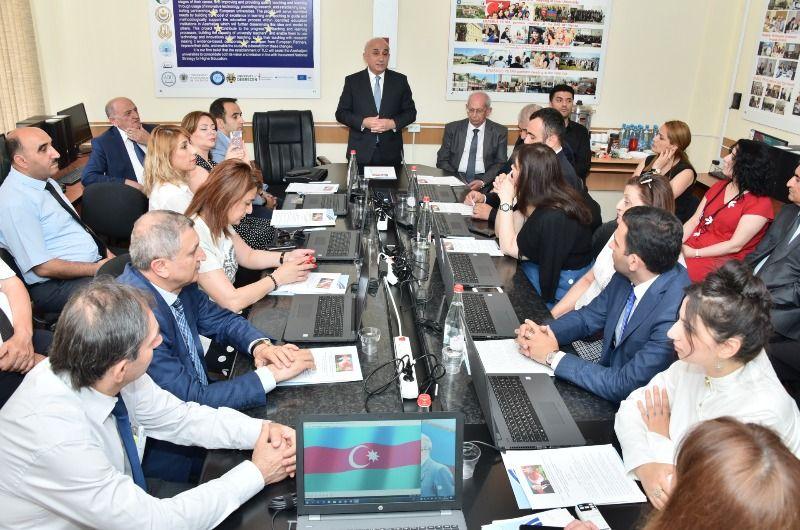 """Erasmus+ """"PETRA"""" layihəsi üzrə yeni tədris mərkəzinin açılışı 13 iyun, 2019"""
