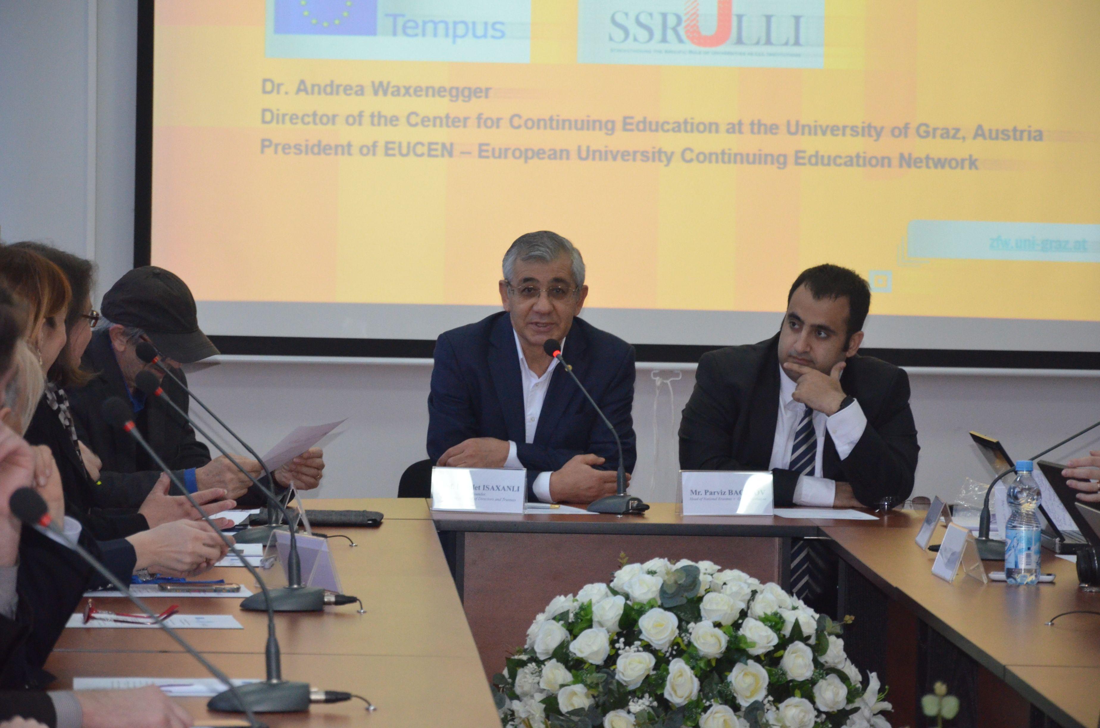 """16 April 2015 """" Seminar on ULLL in Baku """""""