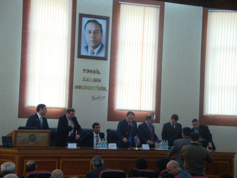 18 December 2009– Tempus Info-Day – Baku State University, Baku, Azerbaijan