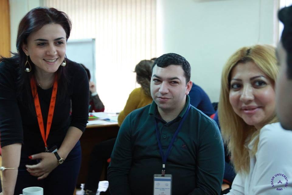 "11-12 Deceber 2015, 544047-TEMPUS-1-2013-1-GE-TEMPUS-JPGR. Tempus project training of ""Project Actors Capacity Training in Caucasus"" at Khazar University , in Baku , Azerbaijan."