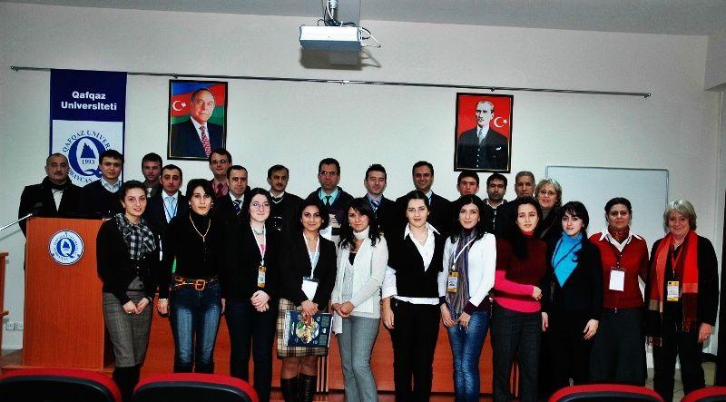 18-21 January 2010- Series of seminars on a TEMPUS NIROA project -Baku, Qavqaz University