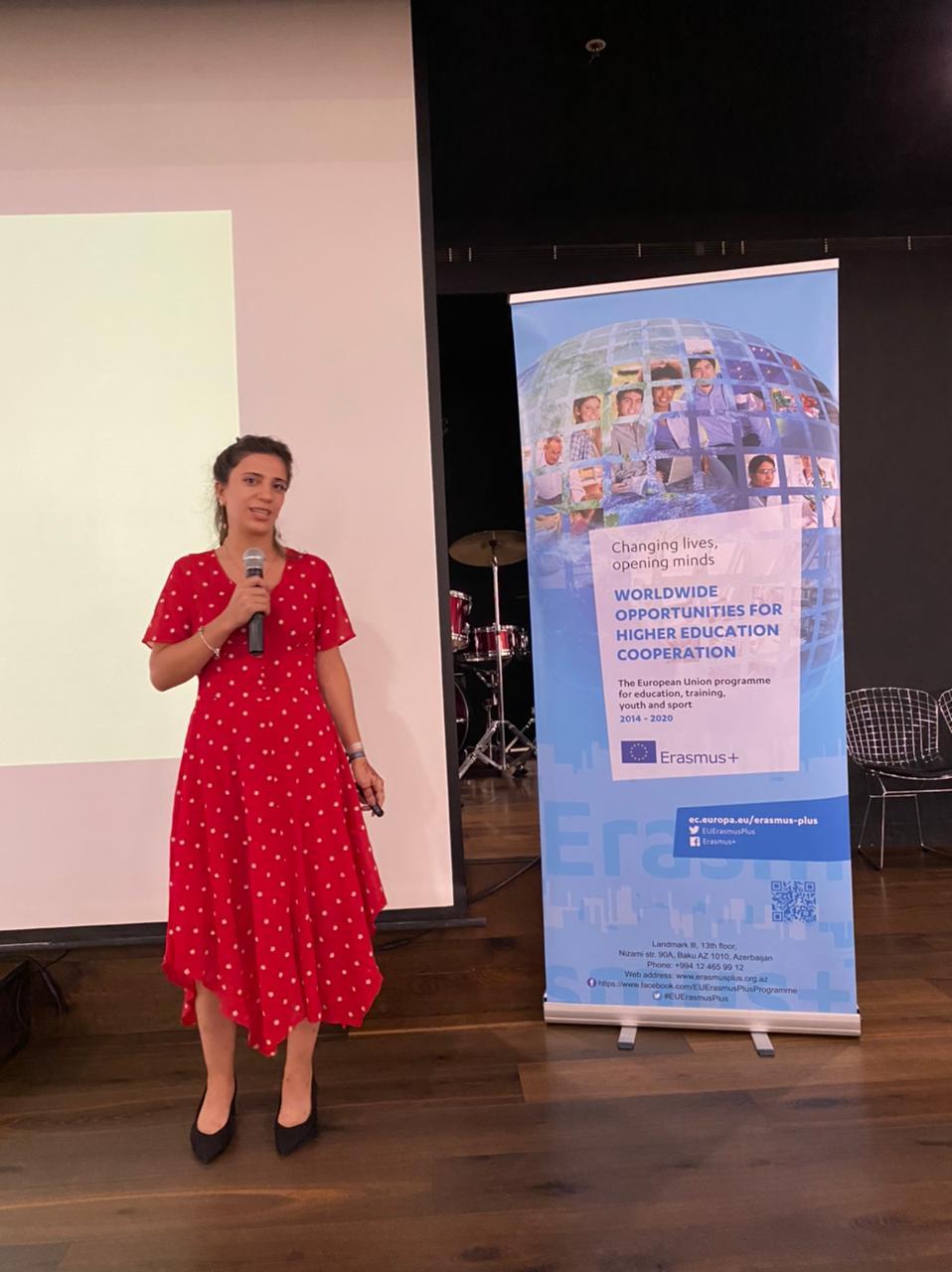 Milli Erasmus+ Ofisi tərəfindən Erasmus Mundus Magistr dərəcəsi (EMJMD) tələbələri üçün gediş öncəsi oriyentasiya görüşü keçirildi
